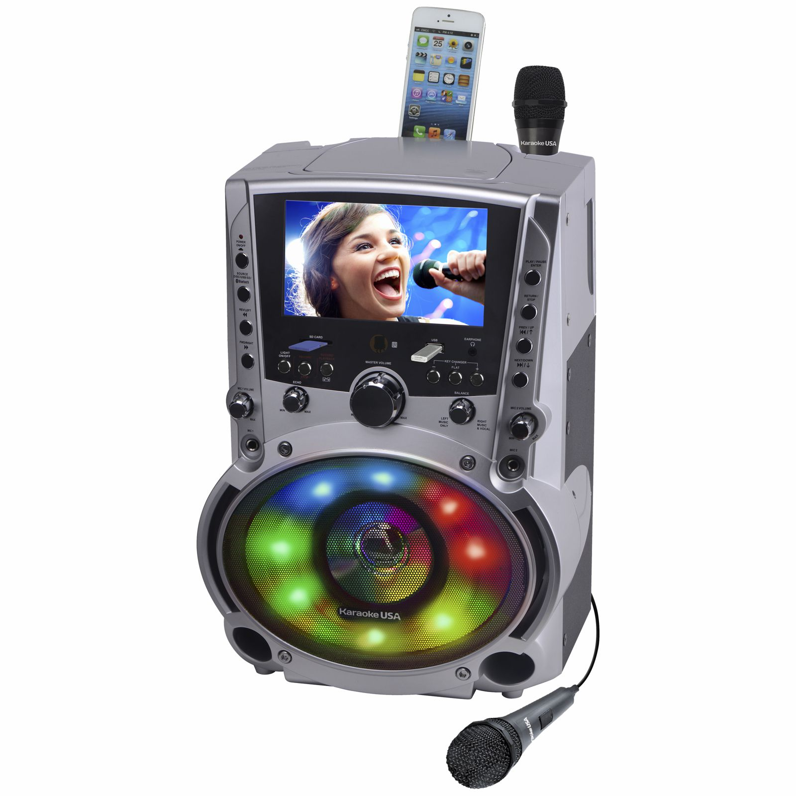 dvd karaoke machine