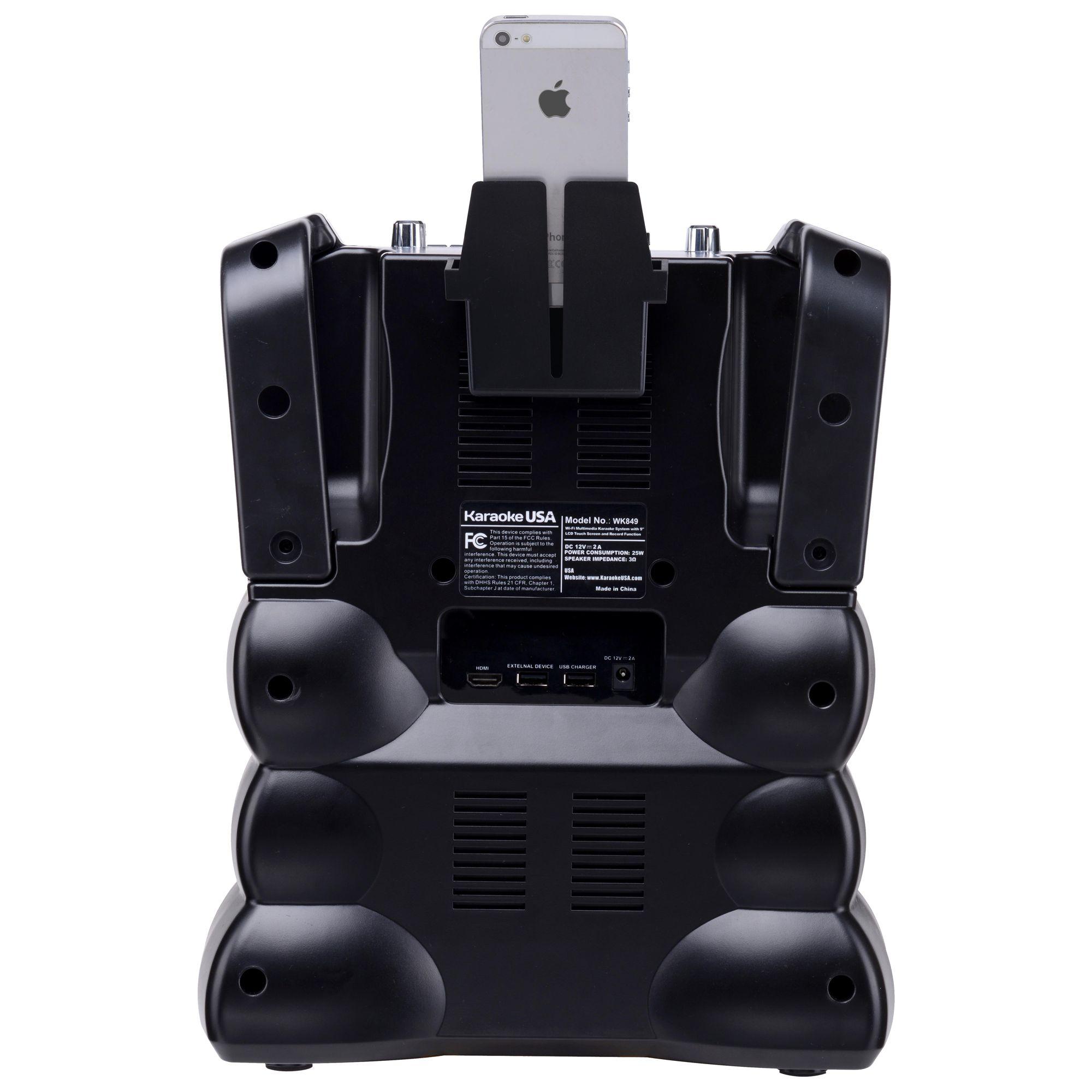 WK849 Complete Wi-Fi Bluetooth Karaoke Machine with 9